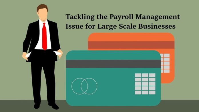 Tackling the Payroll Management Issue for Large Scale Businesses