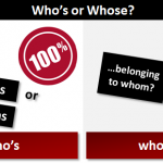 Difference between whose and whos