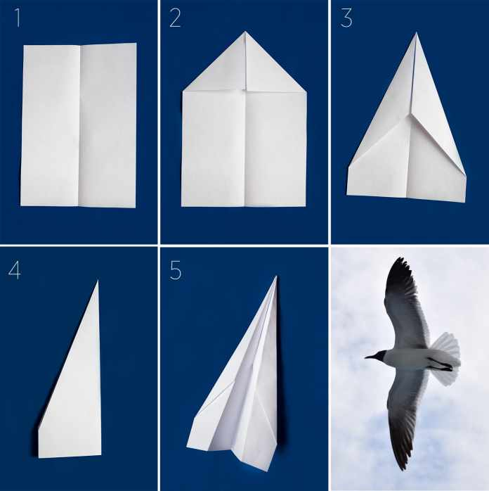 How to make paper airplanes?