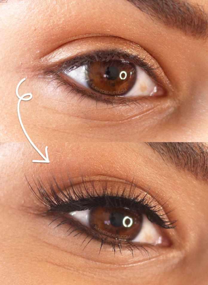 How to put on fake eyelashes?